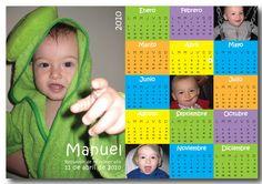 Souvenirs- Imanes con calendario