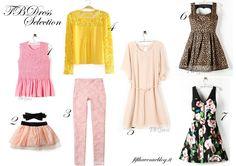 Una selezione di cosa indosseremo in primavera: http://www.fifthavenueblog.it/2014/03/primavera-estate-2014-fantasie-floreali-colori-pastello-tendenze.html?showComment=1394018588527#c6977692808950299258
