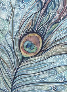 Acuarela: 10 ilustraciones preciosas y 1 tutorial para aprender a pintar hojas…