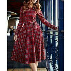 Susan Elegant Vintage Style Dress For Women *Only 2 left!!! Dresses Midi