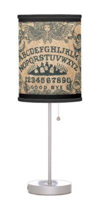 Ouija Board lamp by StuffoftheDead on Etsy