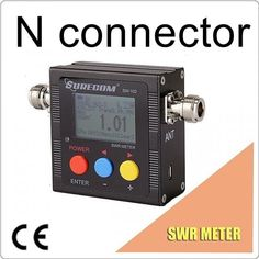 SURECOM SW-102 SW102 vswr 125 - 520MHz meter with frequency counter & power meter 409shop product