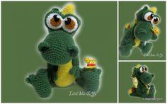 Вяжем крючком Дракона-Дракошу / Вязание игрушек / ProHobby.su   Вязание игрушек спицами и крючком для начинающих, мастер классы, схемы вязания Crochet Amigurumi, Crochet Toys, Crochet Dragon, Yoshi, Dinosaur Stuffed Animal, Projects To Try, Knitting, Blog, Animals