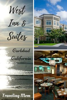 The West Inn & Suites in Carlsbad, San Diego is a unique boutique hotel with tons of included amenities!