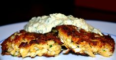 Dungeness Crab Cakes with Spicy Remoulade
