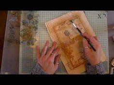 Teabag Envelope Tutorial, - YouTube