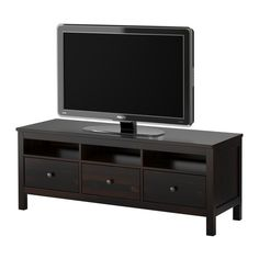 HEMNES TV bench IKEA Solid wood; gives a natural feel. The concealed drawer runners ensure that drawers run smoothly even when heavily loaded.  $365
