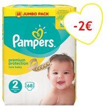 68 Pampers Baby Dry Größe 6 Extra Große 16Kg