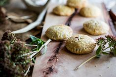Muscadine rose hand pies! Beth Evelyn again! This woman is a genius! The rose water and sage! There is a GOD!