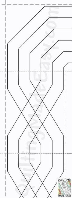 Machine quilting is now easy! Beginning and experienced quilters can get perfect results every time using these tear away patterns and borders.