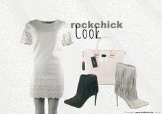 Rockchick... Outfit @trendwalk + laarsjes @Carrementfemme  More inspiration on www.sos2dress.be