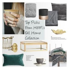 """Top Picks From H&M's Fall Home Collection"" by helenevlacho ❤ liked on Polyvore featuring interior, interiors, interior design, home, home decor, interior decorating and H&M"