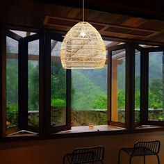 Rattan Lamp Pendant Light Vintage Hanging Lamp Shades E27 Living Room Dining Room Home Decor Cafe Restaurant Hanglamp | Wish Hanging Lamp Shade, Lamp Shades, Hanging Lights, Wicker Pendant Light, Pendant Lamp, Pendant Lighting, Chandelier, Bamboo Ceiling, Ceiling Lamp