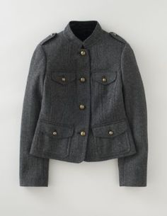 Boden - Military Jacket $224 Love this jacket but the wool is scratchy at the collar
