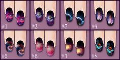 Galaxy Nails for The Sims 2 The Sims, Sims Cc, Sims 4 Nails, Galaxy Outfit, Galaxy Theme, Play Sims, Sims Mods, Ts4 Cc, Sims 4 Custom Content