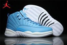 Men s Air Jordan 12 Pantone Basketball Shoes Pantone White-Black 130690-032 9f61b34b7