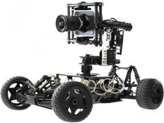 Stabilised RC car by Movi - Freefly Tero http://minivideocam.com/product-category/stabilizers/