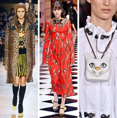 AW16 Fashion Trends on the catwalk at Givenchy by Riccardo Tisci, Dolce & Gabbana and Loewe