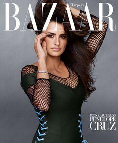 Harper's Bazaar (Setiembre 2014): Penélope Cruz. Foto by Sebastian Faena.
