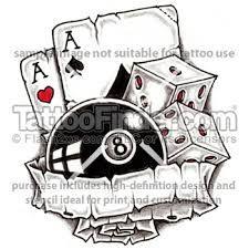 casino tattoo designs - Google Search