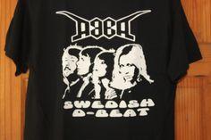 DOOM T-Shirt ABBA Style Logo D-Beat Hardcore Punk Sweedish Hardcore Punk