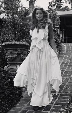 Priscilla Presley at her Beverly Hills Home - April 9, 1975