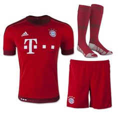 0f597c0d8 Bayern Munich Home Children s Whole Kit(Shirt+Short+Sock)