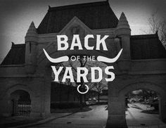 Creative Yards, -, Chicago, Neighborhoods, and Typography image ideas & inspiration on Designspiration South Side Chicago, Chicago Pictures, Chicago Neighborhoods, Cool Typography, Community Organizing, My High School, My Kind Of Town, Yesterday And Today, Type Design