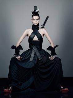 """Honor"" | Model: Meghan Collison, Photographer: Fabien Baron, Interview, October/November 2012"