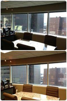 Before and Window film Window Film, Valance Curtains, Windows, Sun, Outdoor Decor, Home Decor, Decoration Home, Room Decor, Home Interior Design