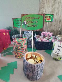 NEED - - Dulces arcoiris y monedas de choco Gravity Falls birthday party