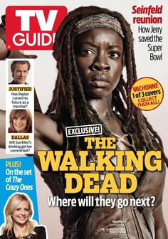 walking dead new tv guide covers | The issue of TV Guide featuring The Walking Dead is on newsstands now.
