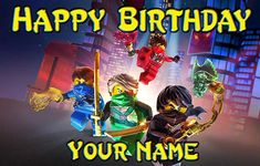 Ninjago Birthday Banner  Shadow of Ronin by SpecialtyBanners
