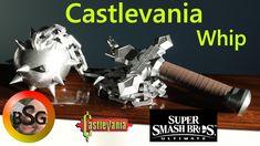 Simon/Richters Whip from Castlevania/Super Smash Bros Ultimate by BlacksmithingGamer 3d Pen, Super Smash Bros, Mobile App, 3d Printing, Blacksmithing, Creative, Prints, Corner, Impression 3d