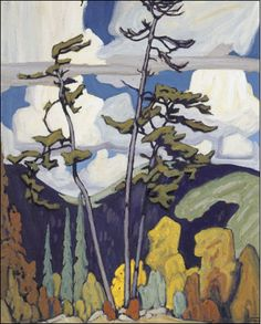 The Pines - Lawren Harris  (This is one of my favorite paintings.)