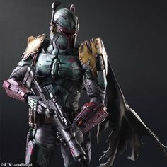 Star Wars Variant Play Arts Kai Boba Fett by Enix
