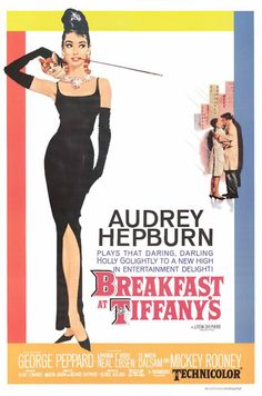 Breakfast at Tiffany's  1961- one of my all time FAVORITES!