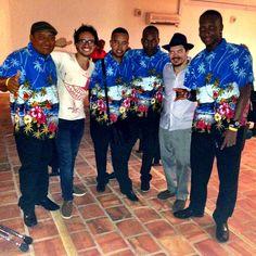Compartiendo con el parche de Caribbean New Style de San Andres Islas, Colombia. Pura sabrosura!