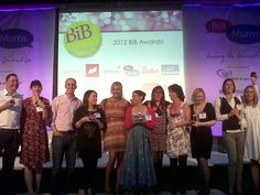 The BritMums Brilliance in Blogging Awards Winners, Including me (the blonde in black)