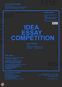 Idea Essay Competition UBL