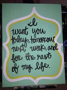 16x12 quote on canvas by PaintbyAmy on Etsy, $20.00