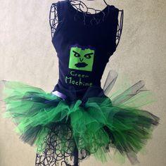 Avengers Running Costume Incredible Hulk by LuckyNumberTutu, $54.95