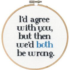 Both Wrong, Counted Cross Stitch_70-74699