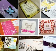 #Butterfly #invitation examples for a Baby Shower