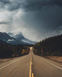 Storm brewing (Banff, Alberta) by Kyle Kuiper (@kdkuiper) on Instagram