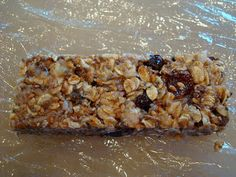Millions of variations of no bake energy bars