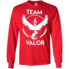 Team Valor1-01 LS Ultra Cotton Tshirt