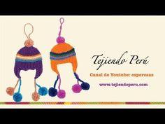 Chullos peruanos pequeños para adornar el árbol de navidad 777e01daf58