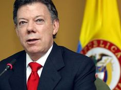 """8/30/2012 COLOMBIA: Colombia's President Juan Manuel Santos admitted to """"exploratory conversations"""" with the FARC (Colombian Revolutionary Armed Forces) who has been fighting the government since 1964."""