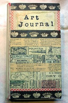 Art Journal, Made by Nina Macaulay.